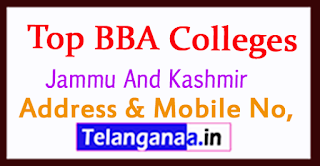 Top BBA Colleges in Jammu And Kashmir