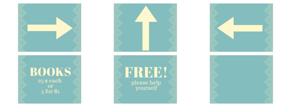free garage sale printables rachel teodoro