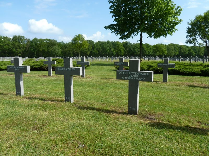 First World War casualties at Ysselsteyn the Netherlands