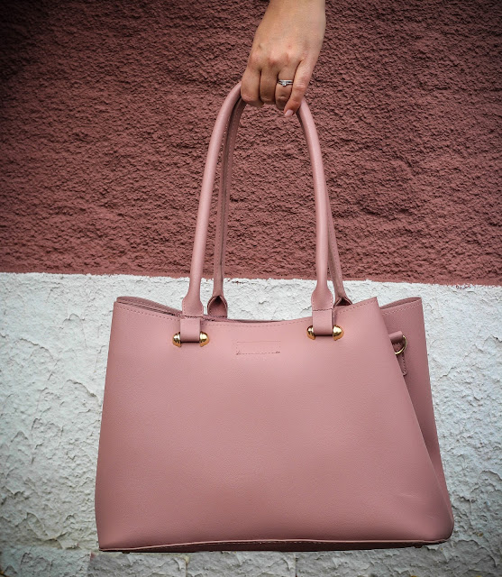 photo of Matalan pink tote bag