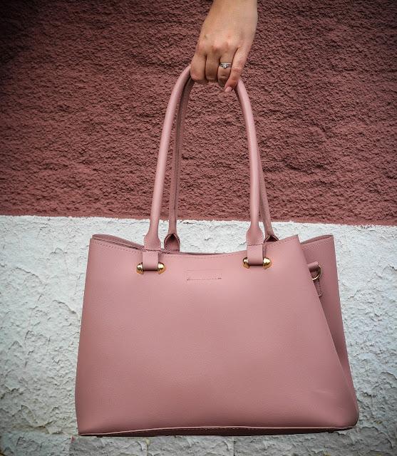 photo of Matalan pink tote bag