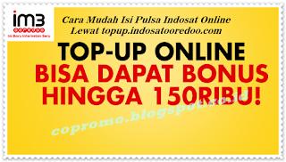 Cara Mudah Isi Pulsa Indosat Online Lewat topup.indosatooredoo.com