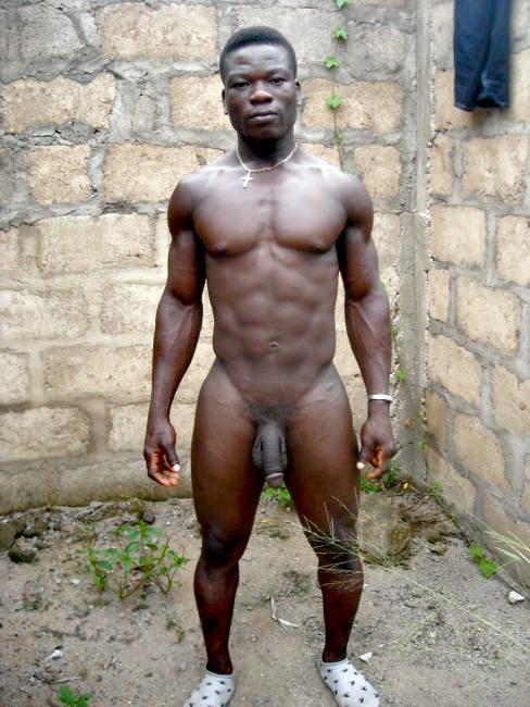 South african naked male excited