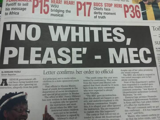 Racism in South Africa