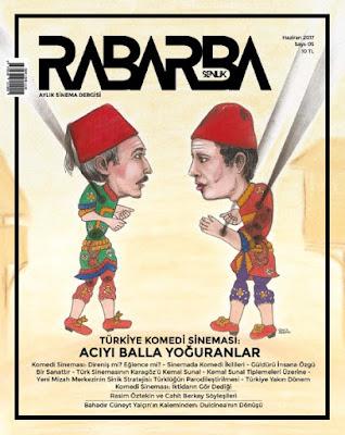 Rabarba Şenlik 5. Sayı (Haziran) - Türkiye Komedi Sineması