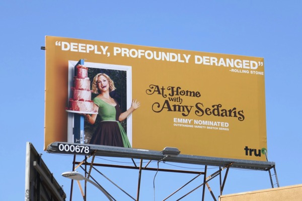 At Home Amy Sedaris 2018 Emmy nominee billboard