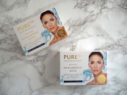 Why Hyaluronic Acid Affects The Skin And My Trial Of PureHA, An Oral Supplement.