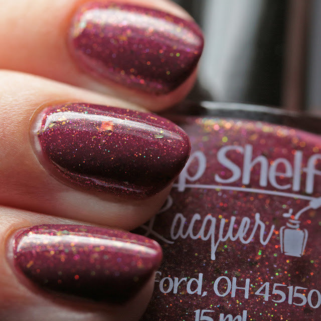 Top Shelf Lacquer With Visions of Sugarplums
