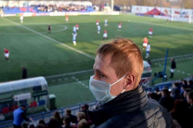 The-football-league-in-Belarus-continues-despite-the-outbreak-of-the-Coruna-virus
