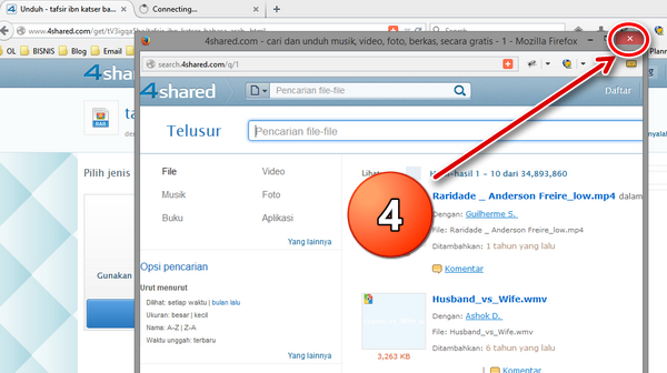 Langkah-langkah Download di 4Shared.com-4