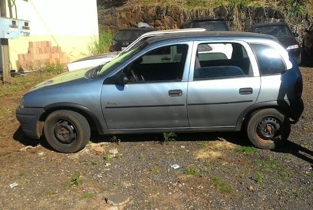 Iretama:- PM recupera veículo furtado e apreende menor autor