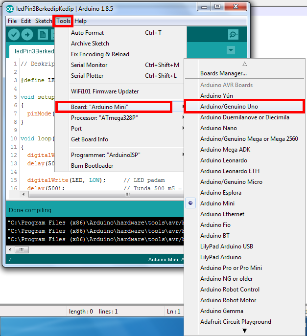 How to Use IDE Arduino Software - Robotics University