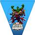 Marvel Superhero Squad: Imprimibles Gratis para Fiestas.