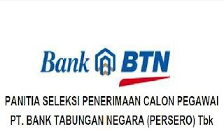 lowongan bank BTN