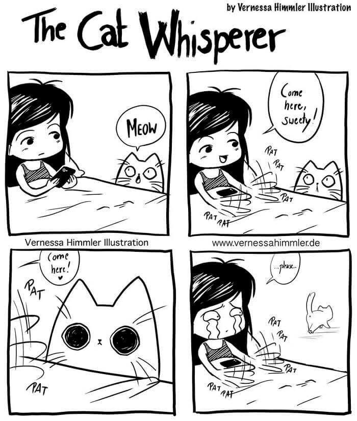 30 Hilarious Comics All Cat Lovers Will Adore