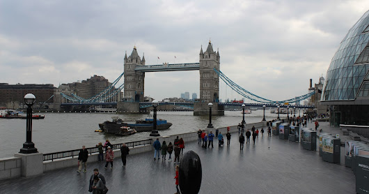 Quarto dia em Londres - Tower Bridge, Torre de Londres, Sky Garden etc.