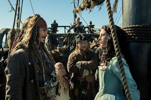 """""""Piratas del Caribe: la venganza de Salazar"""" (Joachim Rønning, Espen Sandberg, 2017)"""