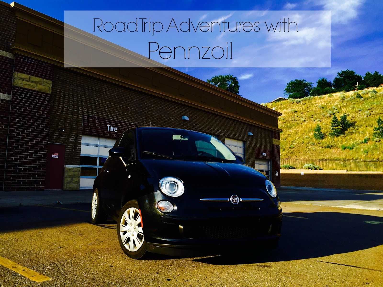 pennzoil, pennzoil high mileage, pennzoil fully synthetic, fiat, fiat pop car, fiat pop, 2013 fiat, new car, road trip adventures, black car with pennzoil, pretty, pennzoil summer rollback, walmart, cbias,