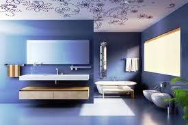 Decoración baño azul