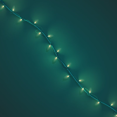 City Lighting Products suggests you use green string lights for an easy decor addition.
