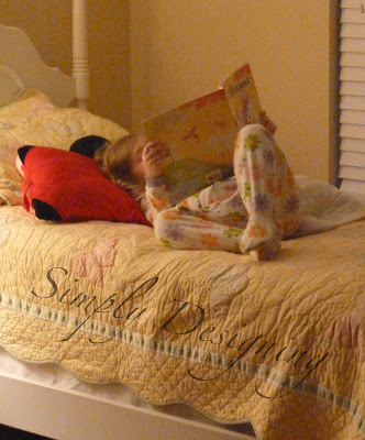 caught in bed reading Teaching Children to Read with Reading Horizons and a {GIVEAWAY} valued at $349 12