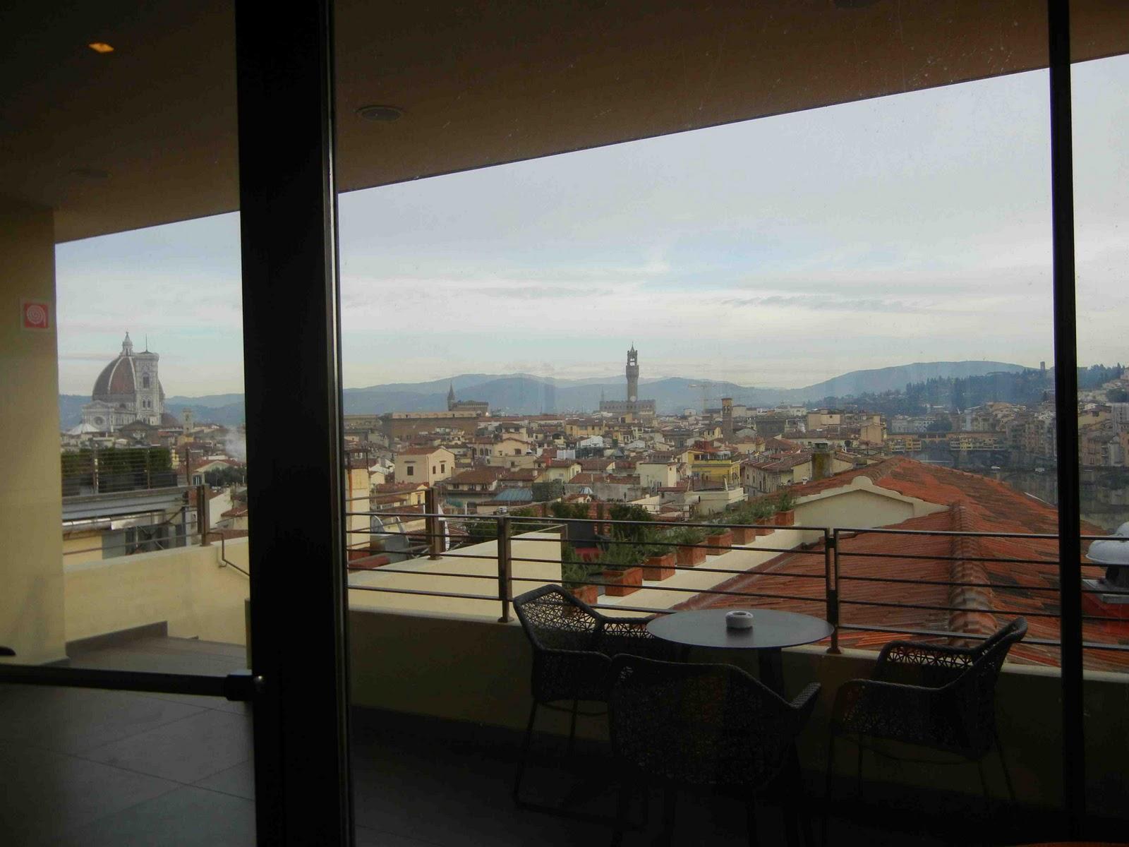 Io Amo Firenze Il Nuovo Ristorante Sul Tetto Dell Hotel