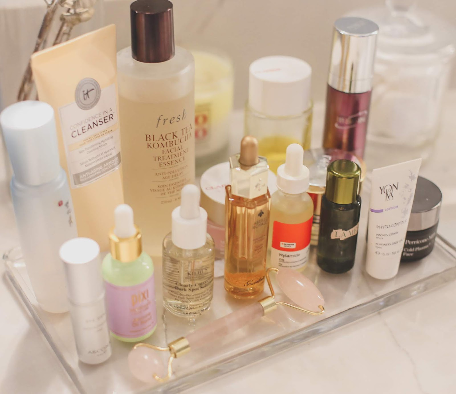 perfect winter morning skincare routine