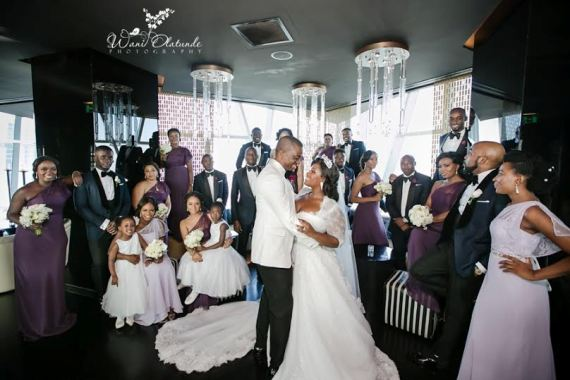 pictures from Nigerian on air personality Toolz Oniru wedding pictures that took place in dubai