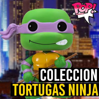 Lista de figuras funko pop de Funko POP Tortugas ninja