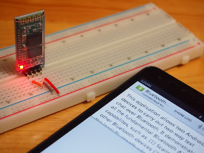 Test Hc-06 Bluetooth Module Amongst Android Bluetoothchat
