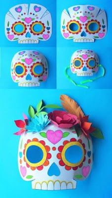 DIY masque Calaveras