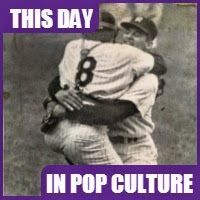 Don Larsen threw a perfect game during the 1956 World Series.