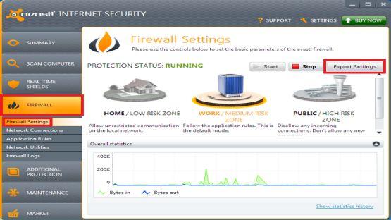 Avast Internet Security 2013 screenshot 4