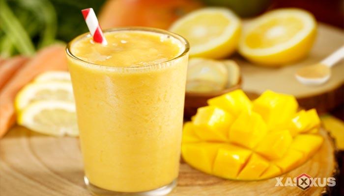 Resep cara membuat jus mangga tanpa blender