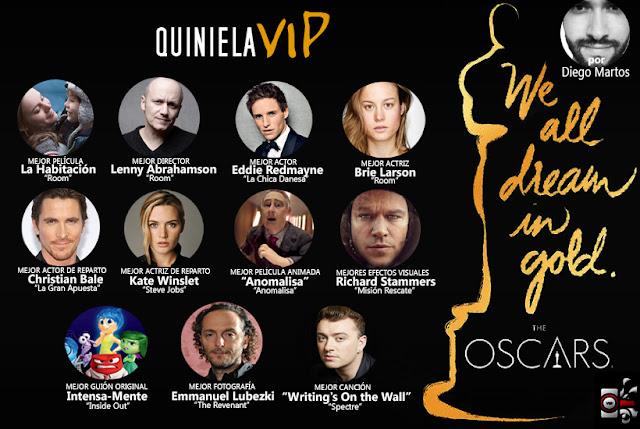 Premios Oscar Quniela 2016