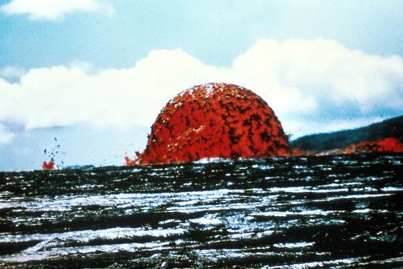 Купол из вулканической лавы