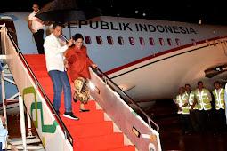 Tinggalkan Pekanbaru, Presiden Jokowi Lanjutkan Kunjungan Kerja Ke Jambi