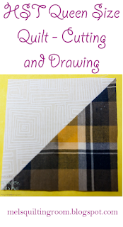 HST Quilt Along Cutting and Drawing Instructions