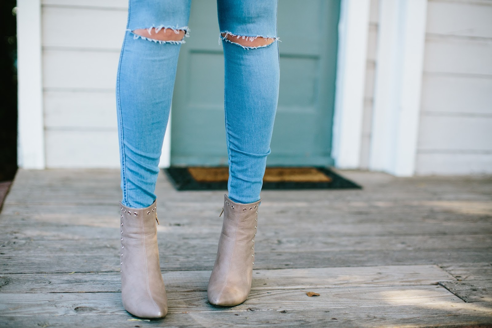 Ripped Jeans, ASOS, Fall Booties