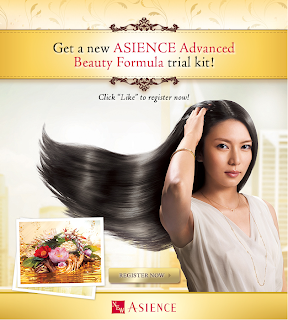 ASIENCE - FREEBIES - [ENDED] FREE ASIENCE Advanced Beauty Formula trial kit