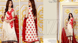Charizma Chiffon Collection 2015 Vol 4