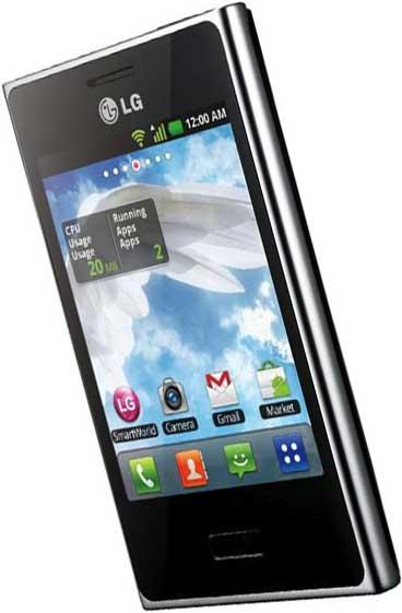 lg optimus l3 e400 vs iphone 3gs