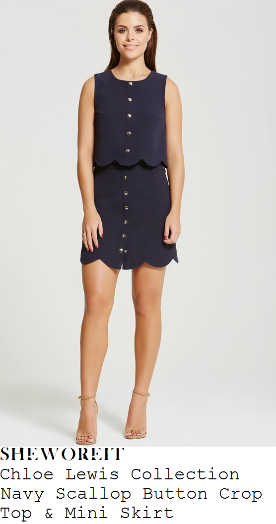 chloe-lewis-little-mistress-chloe-lewis-collection-navy-blue-scallop-edge-button-up-crop-top-and-mini-skirt