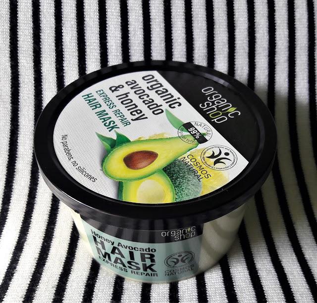 Organic shop maska do włosów awokado i miód
