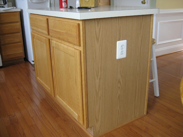 kitchen island base cabinets kitchen island update remodelando la casa 19672