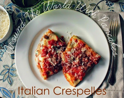 Around the World with Pancakes: Italian Crespelles