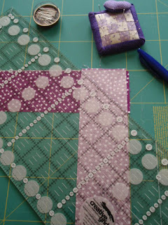 Prepping my seam binding