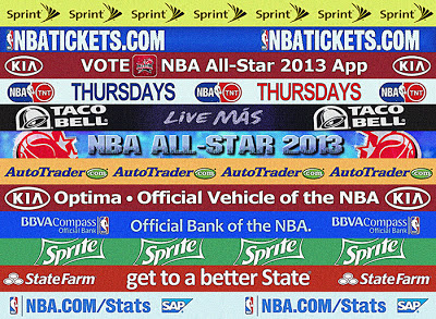 NBA 2K13 All Star Game 2013 Sponsors Patch