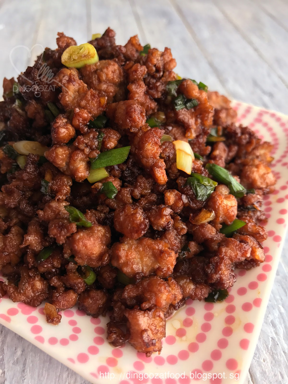 Blogspot Food Blog Miki S Food Archives Po Po S Recipe Minced Meat Grandma S