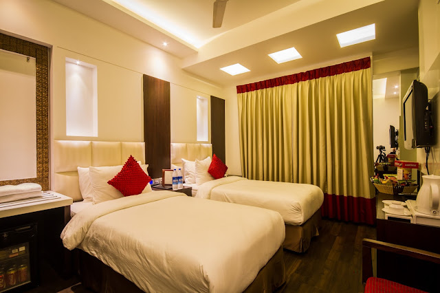 Grand Godwin Hotel Paharganj Delhi- Twin Room